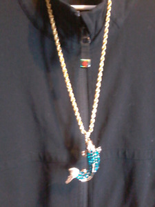 Chain and pendent
