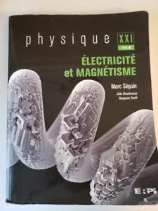 Manuel Électricité et magnétisme | par Marc Séguin