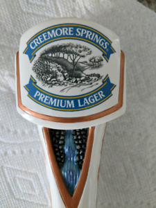 Creemore springs beer tap handle