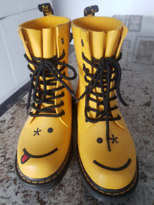 Dr. Martens DRENCH rubber boots.