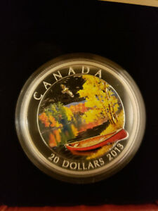 $20 Autumn Bliss coin - Royal Canadian mint