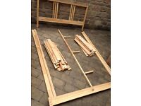 IKEA double bed frame and slats