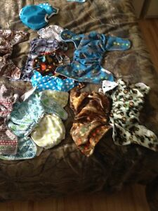 Hand made cloth diapers