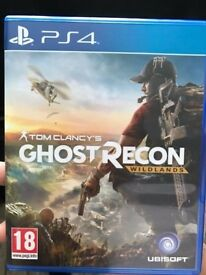 Ghost Recon Wildlands and The Division ps4