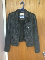 leather jacket from garage