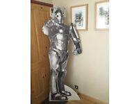 Dr Who Cyberman Lifesize Cardboard Cutout