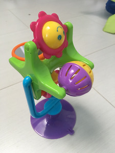 Playskool Poppin' Park Elefun Busy Ball Popper and Spin toy