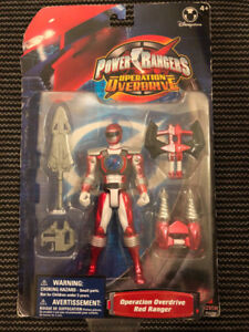 Brand New Power Rangers Operation Overdrive Red Ranger
