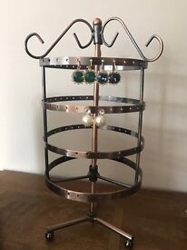 Beautiful Vintage Brass Earring Stand