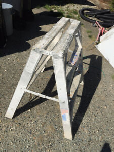 Aluminum Portable Work Stand/sawhorse/Ladder