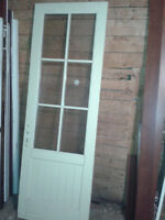 Interior doors $20 and exterior doors $50
