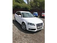 2010 Audi A3 1.4T FSI S Line + white + 9 service stamps + very good looking