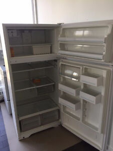 Clean, Great Condition Refrigerator and Stove