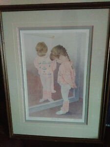 John Newby autographed and framed prints London Ontario image 1