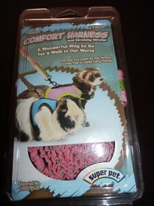 NEW COMFORT HARNESS AND LEASH FOR SMALL PETS.