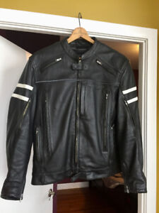 Triumph Custom Leather Motorcycle Jacket for Sale