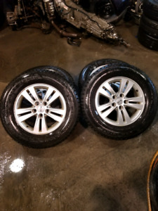 215/70r16(USED WINTER AND SUMMER TIRES AVAILABLE)