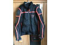 Dianese waterproof motorbike jacket 54