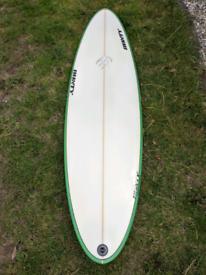 BUNTY hybrid shortboard surfboard