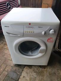 Hoover washing machine 6kg load