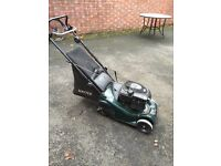 Hatter Harrier petrol lawnmower
