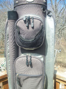 GOLF CART BAG  LOTS OF POCKETS QUALITY MADE.