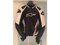 Alpinestars Leather Jacket size Uk 42