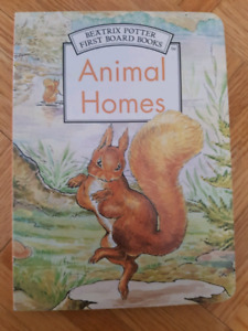 Beatrix Potter - First Board Books: Animal Homes