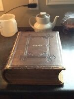 1860's family bible - Torrey