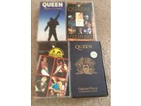 Queen VHS Tapes
