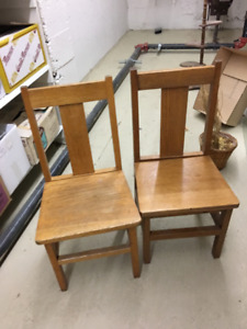 Vintage child's library chair