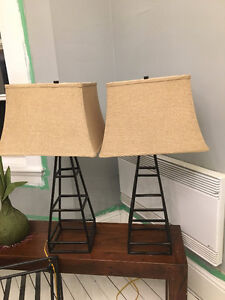 Like New Lamps from Winners - Only $75 for both