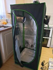 Hydroponics Full Grow Tent Set Up