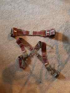Captain America belt and harness