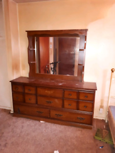 Well used furniture but good condition