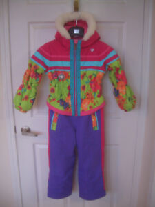girls size 6 Obermeyer snowsuit