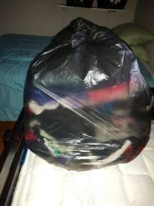 Garbage bag full