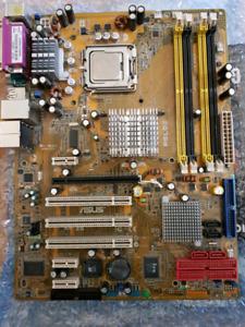 Carte mere asus P5LD2 + CPU p4 541