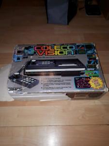 Colecovision console. Video games. CIB