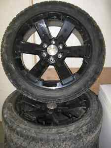 2015 chev 1500 factory rims with tires