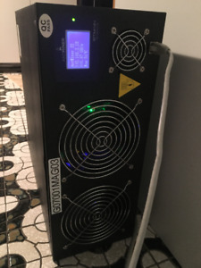 Antminer S2 1TH/s mineur de bitcoin parfaite condition usage