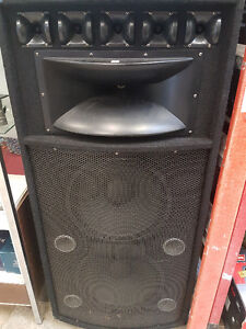 DFX Professional Audio DFX-215 Unpowered Speakers (2 Speakers)