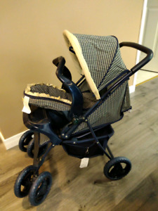 Childs doll stroller with baby carrier 10