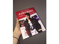 "Official Justin Bieber ""A Year in His life"" book."