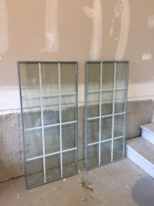 Energy Star Sealed Double Pane Door Inserts