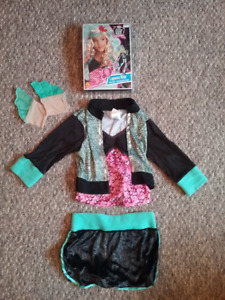 Monster High Lagoon Blue Halloween costume and WIG. mermaid