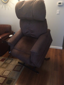 Sealy Power reclining/stand up recliner