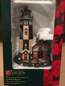 Porcelain Lighted Lighthouse