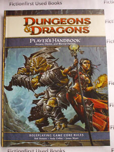 """Roleplay Manual: """"D&D 4th Edition: Players Handbook"""""""