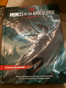 Dungeons and dragons princes of the apocalypse
